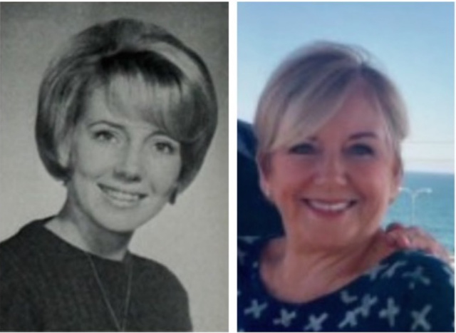 Debby Moore, '67 OUR PHOTOS, THEN AND NOW